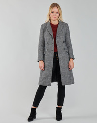 textil Mujer Abrigos Betty London PIXIE Negro / Gris