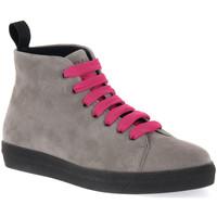 Zapatos Mujer Botas de caña baja Frau CACHEMIRE IRON Grigio