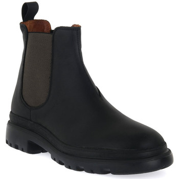 Zapatos Hombre Botas de caña baja Frau CRAZY NERO MILITARY Nero