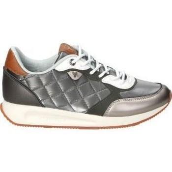 Zapatos Mujer Zapatillas bajas Yumas DEPORTIVAS  CHIARA MODA JOVEN PLOMO Gris