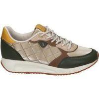 Zapatos Mujer Zapatillas bajas Yumas DEPORTIVAS  CHIARA MODA JOVEN KHAKI Vert