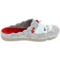 Zapatos Mujer Pantuflas Boissy JH65458 Gris Gris