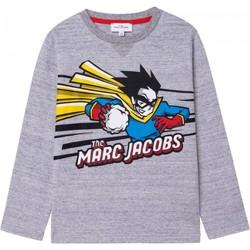 textil Niño Camisetas manga larga Marc Jacobs W25517 Gris