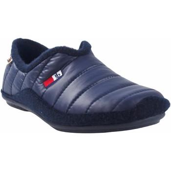 Zapatos Hombre Pantuflas Berevere Ir por casa caballero  in 1650 azul Azul