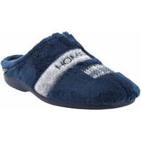 Zapatos Hombre Pantuflas Berevere Ir por casa caballero  in 1601 azul Azul