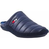 Zapatos Hombre Pantuflas Berevere Ir por casa caballero  in 9671 azul Azul