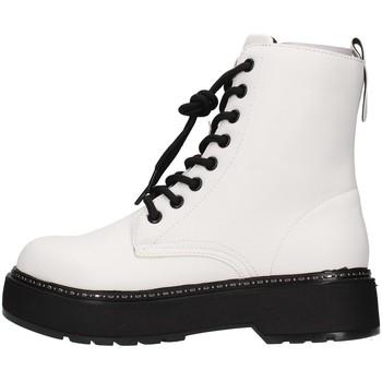 Zapatos Mujer Botines Café Noir C1FF9000 BLANCO
