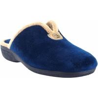 Zapatos Mujer Pantuflas Berevere Ir por casa señora  in 975 azul Azul