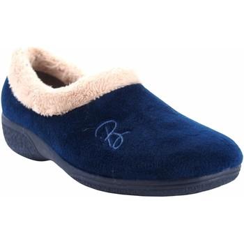 Zapatos Mujer Pantuflas Berevere Ir por casa señora  in 888 azul Azul