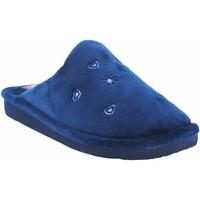 Zapatos Mujer Pantuflas Berevere Ir por casa señora  in 0530 azul Azul