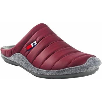 Zapatos Hombre Pantuflas Berevere Ir por casa caballero  in 9671 burdeos Rojo