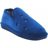 Zapatos Mujer Pantuflas Berevere Ir por casa señora  in 0585 azul Azul