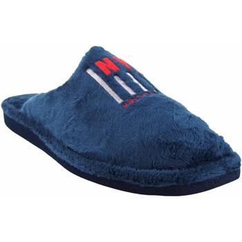 Zapatos Hombre Pantuflas Berevere Ir por casa caballero  in 1705 azul Azul