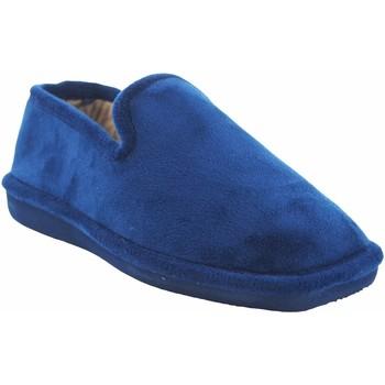 Zapatos Hombre Pantuflas Berevere Ir por casa caballero  in 711 azul Azul