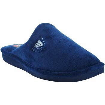 Zapatos Hombre Pantuflas Berevere Ir por casa caballero  in 502 azul Azul