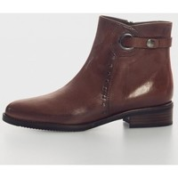 Zapatos Mujer Botines Plumers 5125 Marron