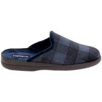 Zapatos Pantuflas Boissy JH25624 Marine Azul
