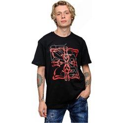 textil Hombre Camisetas manga corta Givenchy BMWZ3002 - Hombres negro