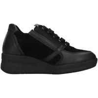 Zapatos Mujer Zapatillas altas Melluso R25623A NEGRO