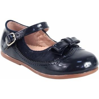 Zapatos Niña Bailarinas-manoletinas Bubble Bobble Zapato niña  a3555 azul Azul