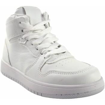 Zapatos Niña Zapatillas altas Bubble Bobble Deporte niña  a3510 blanco Blanco