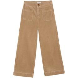 textil Niña Pantalones fluidos Mayoral Pantalon largo pana Marrón