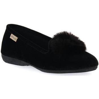 Zapatos Mujer Pantuflas Grunland NERO 57TAXI Nero