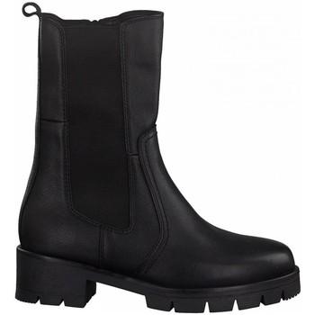Zapatos Mujer Botines Jana 25413 PIEL NEGRA NEGRO