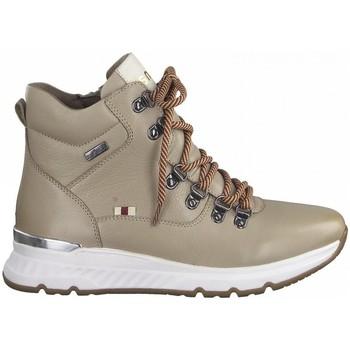 Zapatos Mujer Botas de caña baja Jana 26227 TEX BEIG BEIG