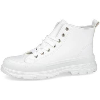 Zapatos Mujer Zapatillas altas Bubble Bobble M2117 BLANCO