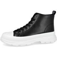Zapatos Mujer Zapatillas altas Bubble Bobble M2117 NEGRO