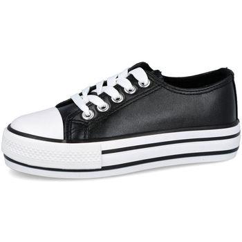 Zapatos Niña Zapatillas bajas Bubble Bobble A3560 NEGRO