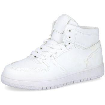 Zapatos Niños Zapatillas altas Bubble Bobble A3510 BLANCO