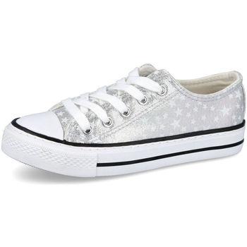 Zapatos Niña Zapatillas bajas Bubble Bobble A3513 PLATA