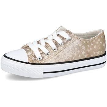 Zapatos Niña Zapatillas bajas Bubble Bobble A3513 ORO