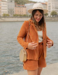 textil Mujer Chaquetas / Americana Céleste SASSAFRAS Camel