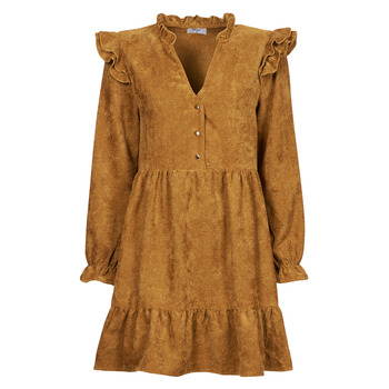 textil Mujer Vestidos cortos Betty London PINEA Camel
