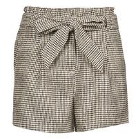 textil Mujer Shorts / Bermudas Betty London PIUBELLA Negro / Crudo