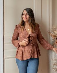 textil Mujer Tops / Blusas Céleste ROSSIGNOL Multicolor