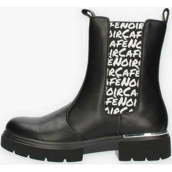 Zapatos Niña Botas de caña baja Café Noir C1480 Negro
