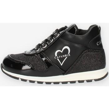 Zapatos Niña Zapatillas altas Café Noir C1530 Negro