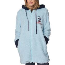textil Mujer Pijama Admas Chaqueta interior con capucha Minnie Shy Disney Azul
