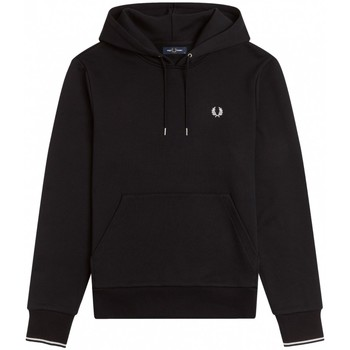 textil Hombre Sudaderas Fred Perry Hooded Sweatshirt M2643-102 Negro