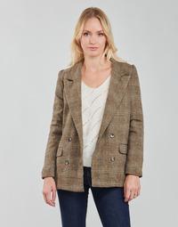 textil Mujer Chaquetas / Americana Betty London PANOPI Marrón