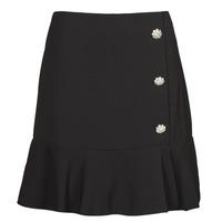textil Mujer Faldas Moony Mood  Negro