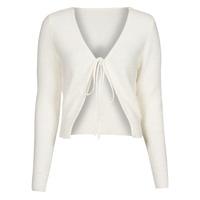 textil Mujer Chaquetas de punto Yurban  Blanco