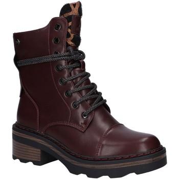 Zapatos Mujer Botas de caña baja Xti 44407 Rojo