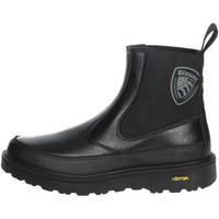 Zapatos Mujer Botas de caña baja Blauer GRETNA02 Negro