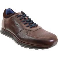 Zapatos Hombre Zapatillas bajas Bugatti 331-a0205 Cuero marrón