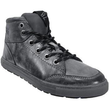 Zapatos Hombre Zapatillas altas Bugatti 321-a5g30 Gris oscuro